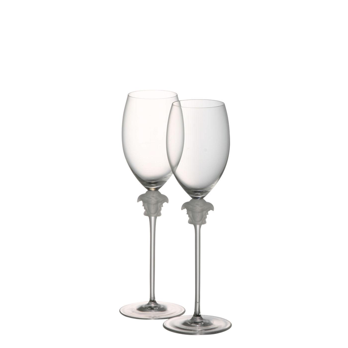 Versace Medusa Lumiere glas voor witte wijn