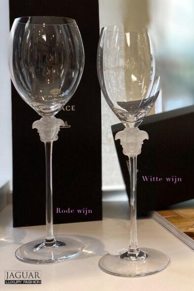 Versace witte wijn