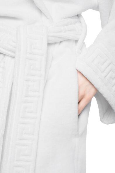 Versace badjas wit