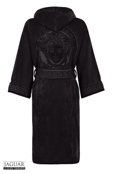 Versace bathrobe black