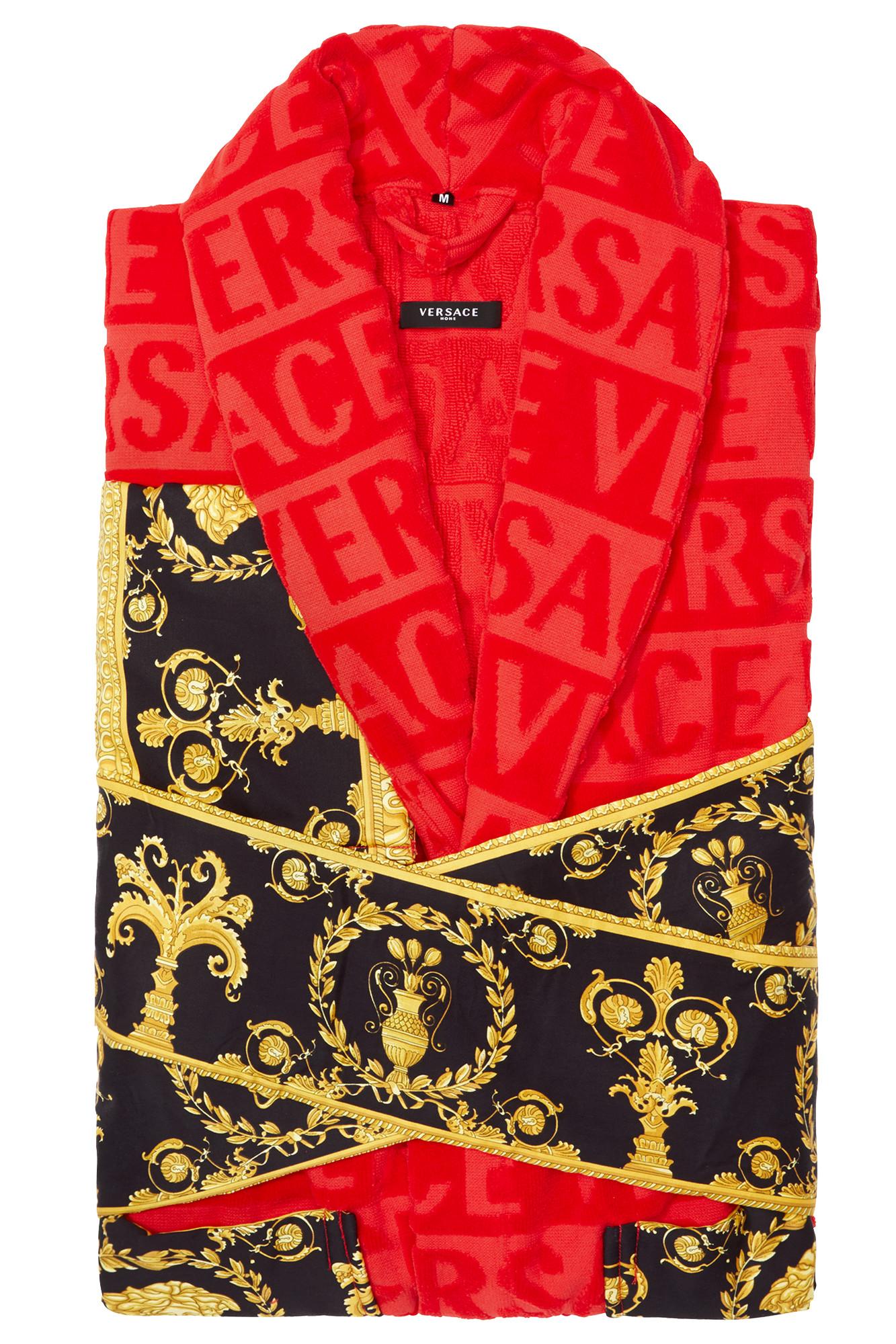 Versace I ♡ Baroque Bathrobe Red Jaguar Mode