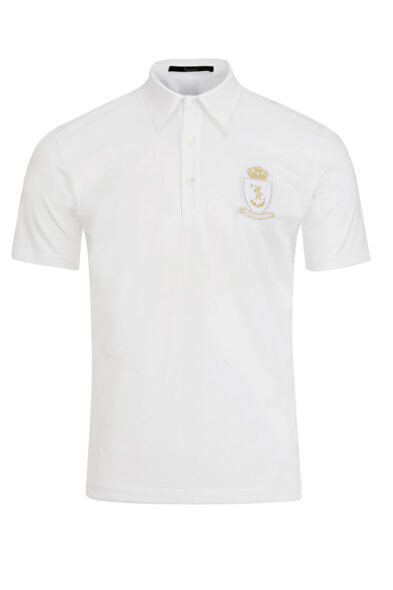 Billionaire polo shirt white