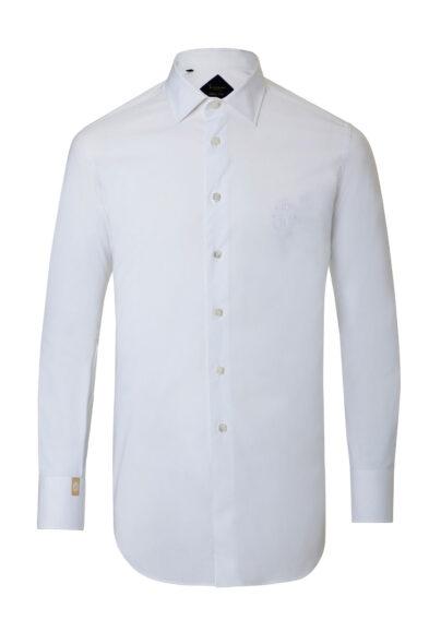 Billionaire shirt Clovis white