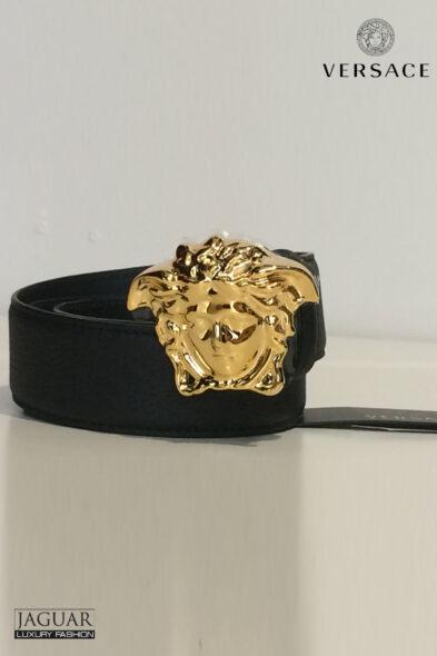 Versace belt medusa gold