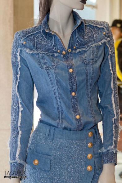 Balmain western blouse