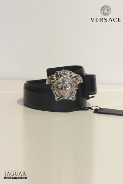 Versace belt palladium