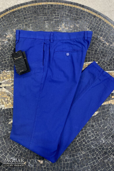 Billionaire trouser blue