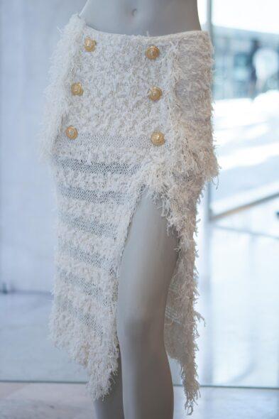 Balmain skirt white