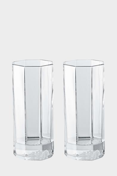 Versace long drink glass