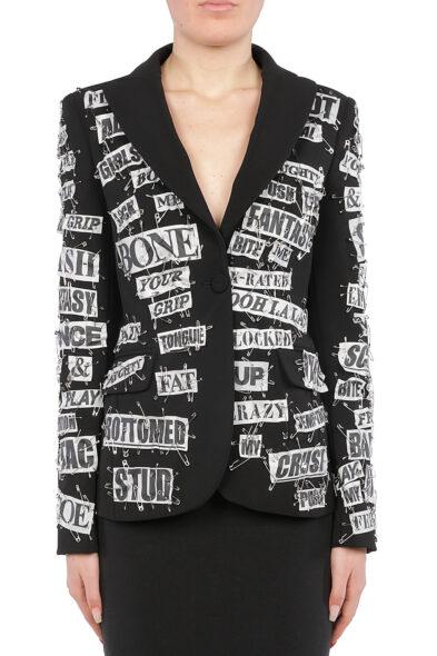 Moschino blazer black