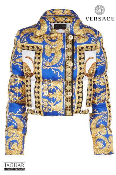 Versace jacket pillow talk