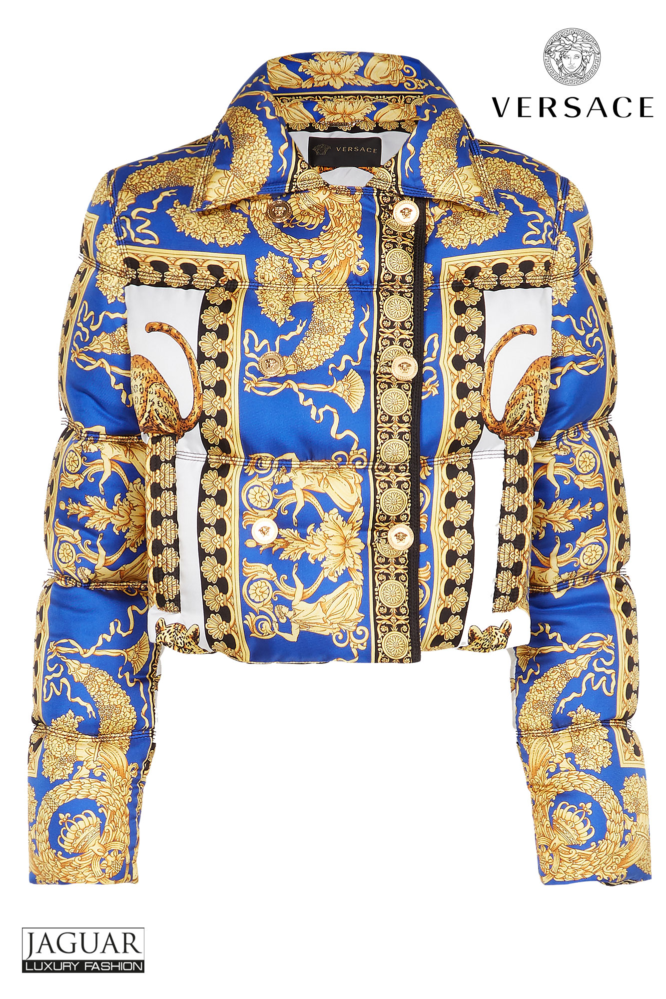 Versace jacket pillow talk