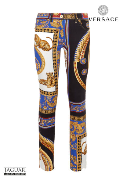 Versace cropped print