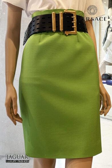 Versace skirt green