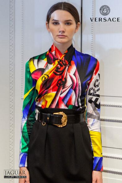 Versace top multicolor