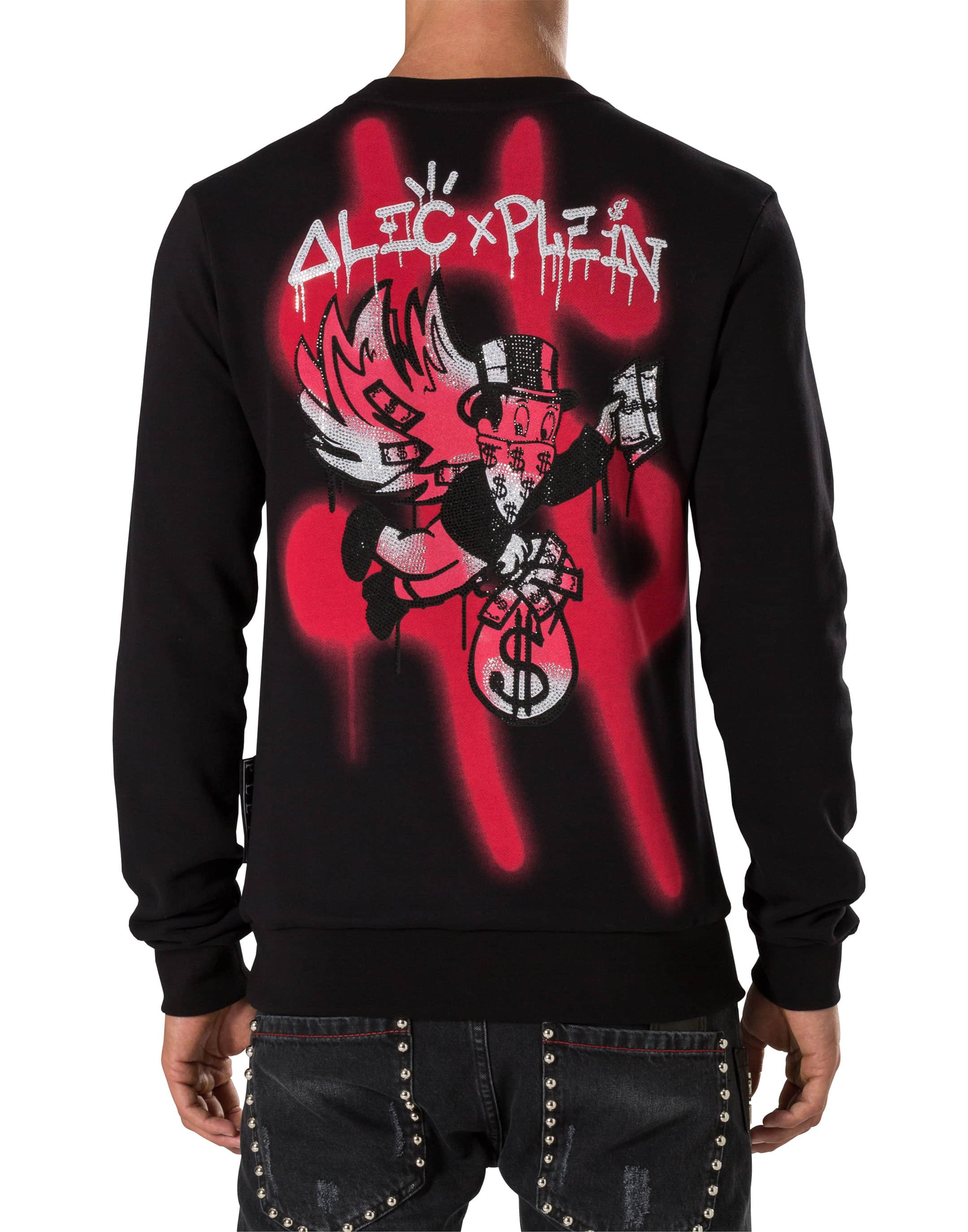 "Fly"" Jaguar Mode Sweater – Philipp Plein ""dollar H2IDYW9E"