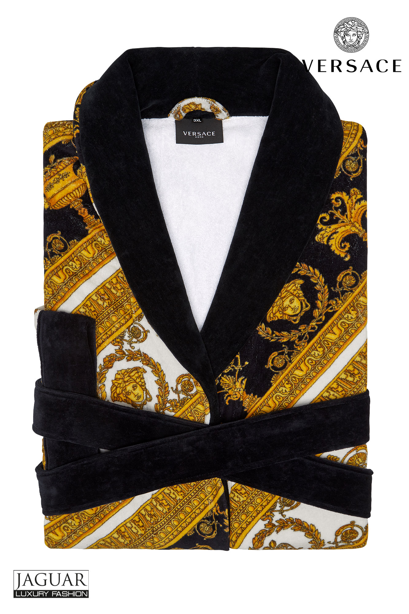 Versace bathrobe Bianco – oro – nero – JAGUAR MODE 2fa343f5e
