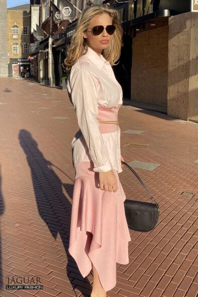 Victoria Beckham skirt + blouse