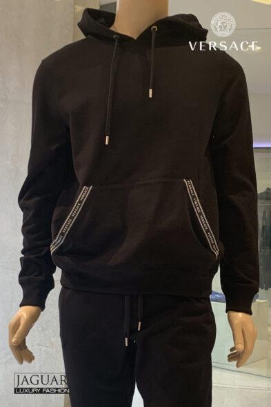Versace hoodie black