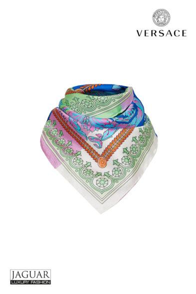 Versace scarf technicolor