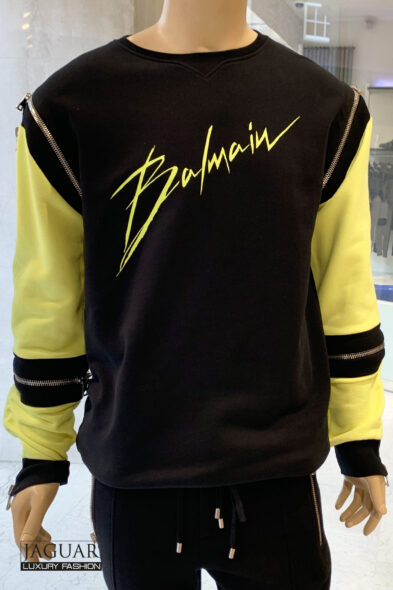 Balmain sweater zip