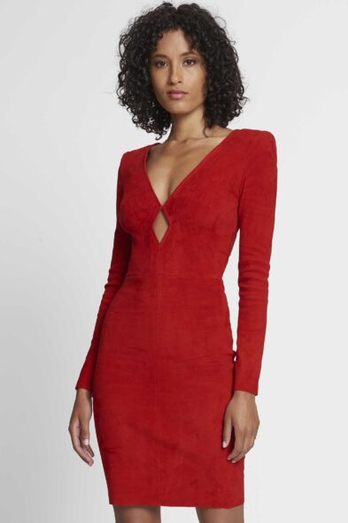 Jitrois dress icon red