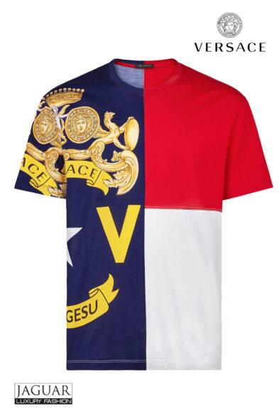 Versace t-shirt bandiera