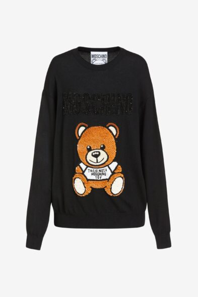 Moschino sweater bear