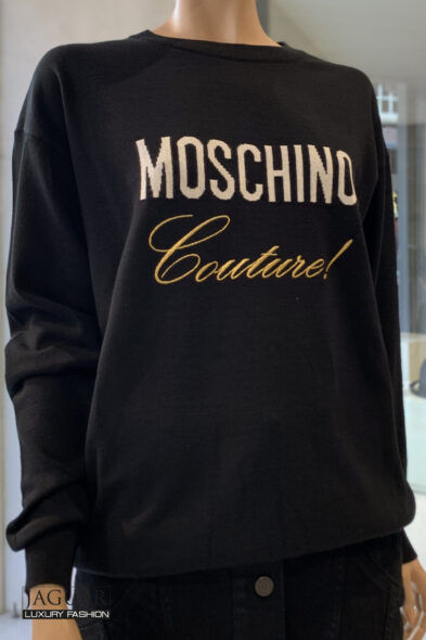 Moschino knit black