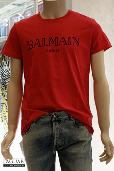 Balmain t-shirt red