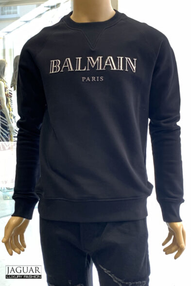 Balmain sweater black logo