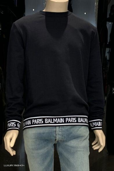 Balmain sweatshirt logo black