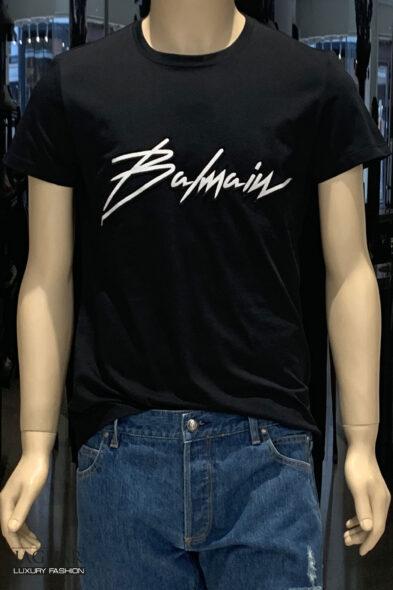 Balmain signature t-shirt