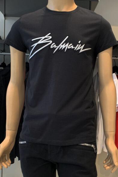 Balmain t-shirt logo-signature