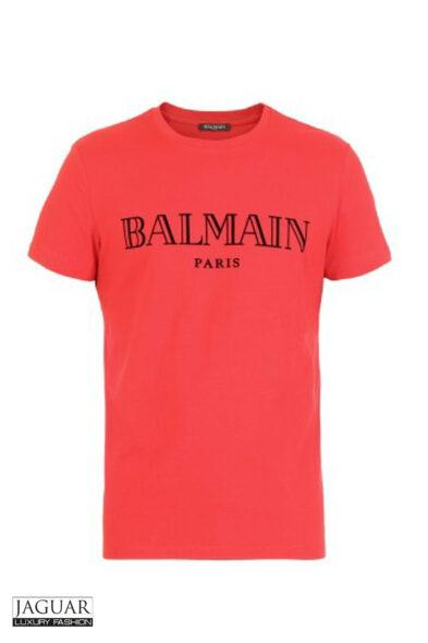 Balmain t-shirt red