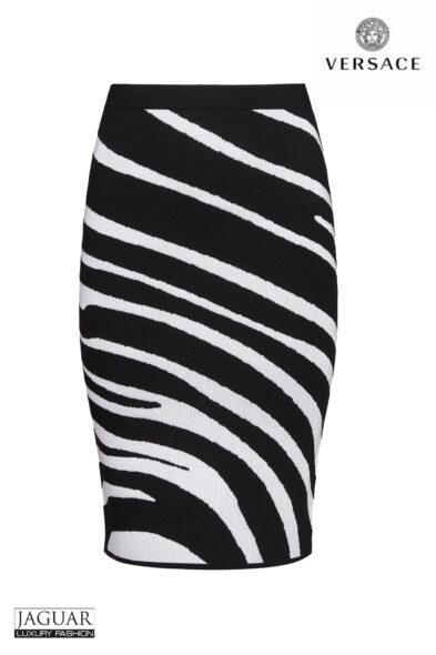 Versace skirt zebra