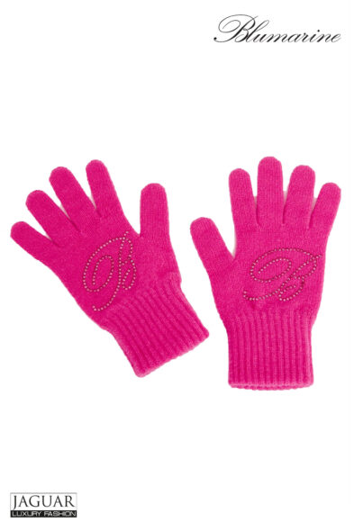 Blumarine gloves pink