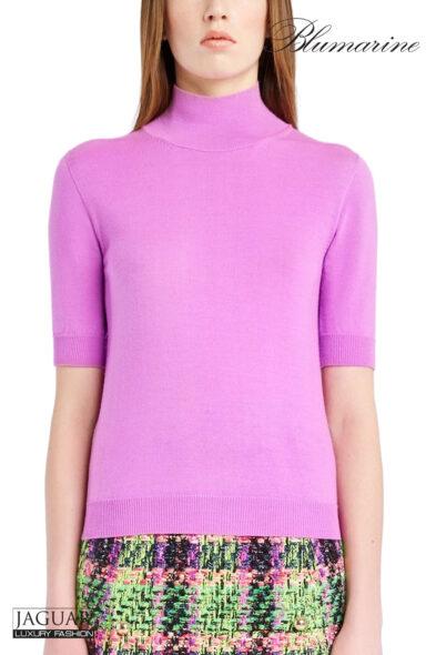 Blumarine knit pull lilac