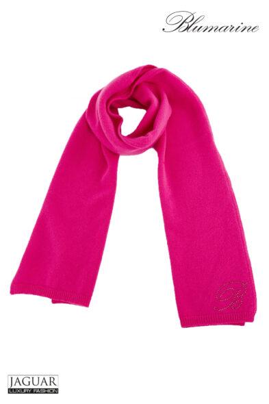 Blumarine scarf fuxia