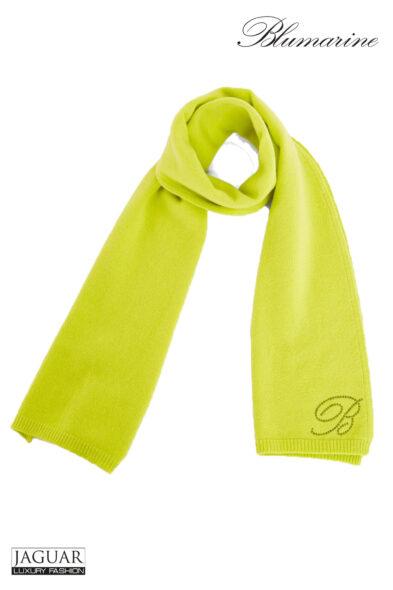Blumarine scarf lime