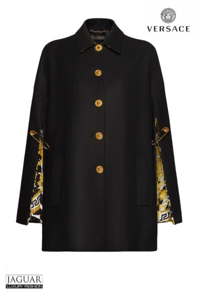 Versace cape black