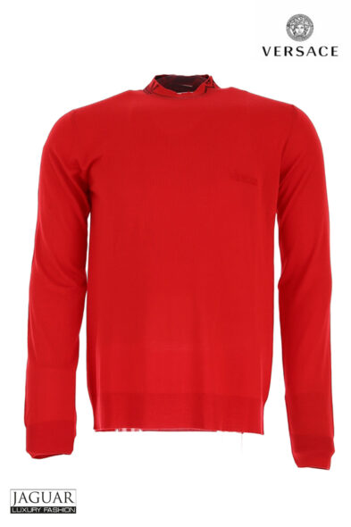 Versace knit red