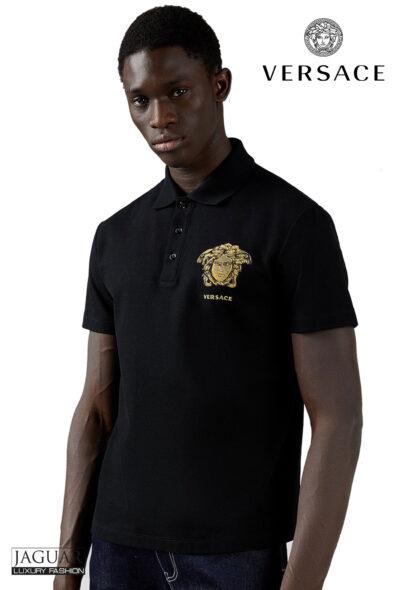 Versace polo black