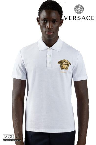 Versace poloshirt white