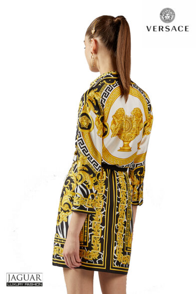Versace shirt dress