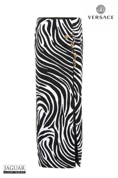 Versace zebra skirt