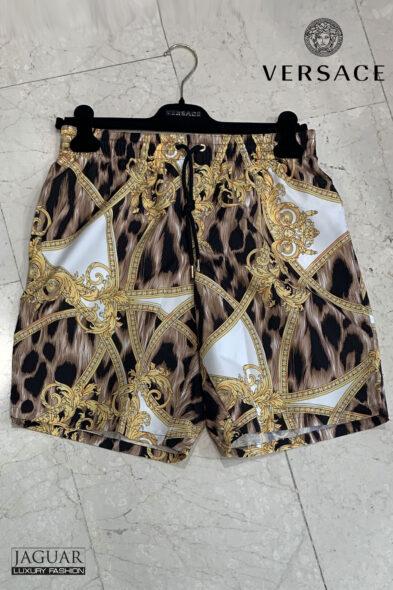Versace print swim short