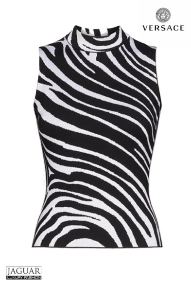 Versace zebra top
