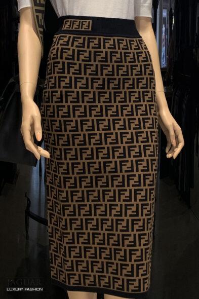 Fendi skirt brown