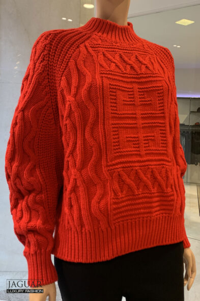 Givenchy knit pull red